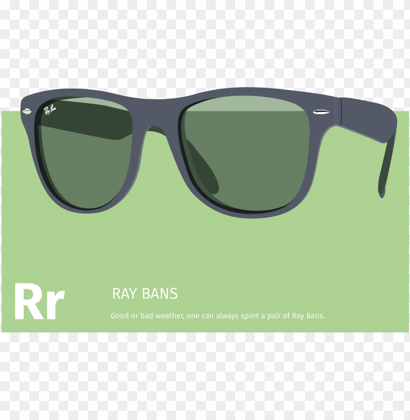 free PNG illustration of a ray ban wayfarer pair of sunglasses - parallel PNG image with transparent background PNG images transparent