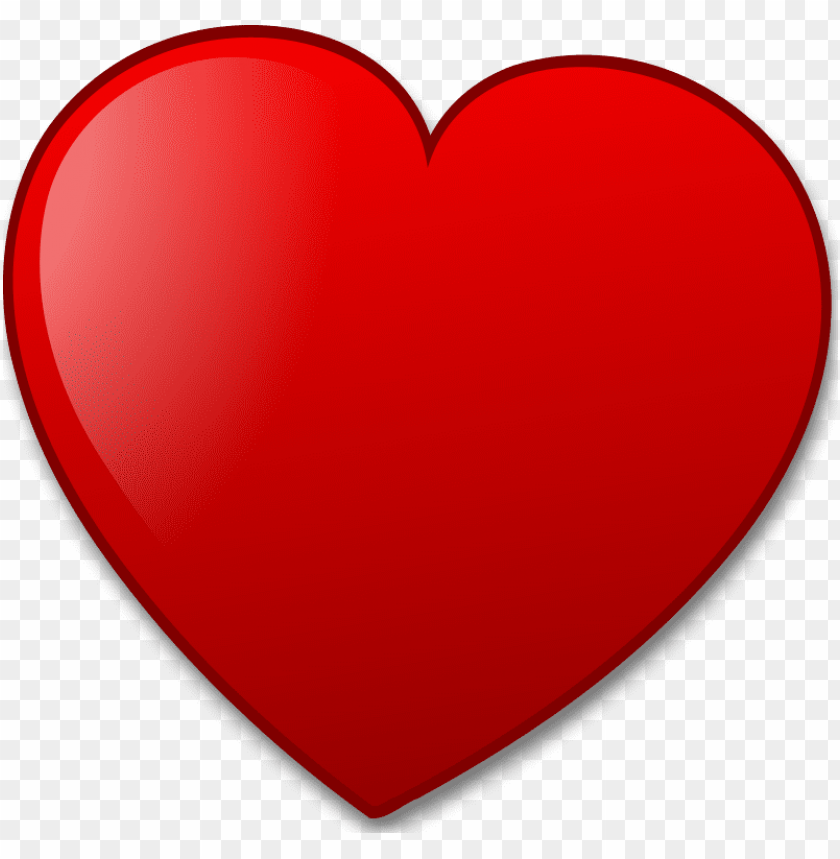 free PNG Download illustration of a red heart pv clipart png photo   PNG images transparent