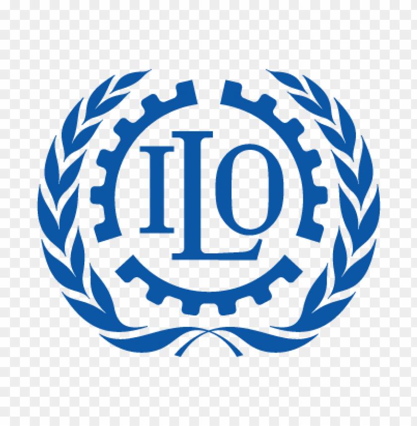 free PNG ilo (international labour organization) logo vector PNG images transparent