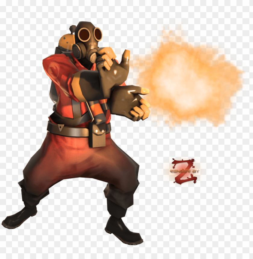 Image 1456692611 Team Fortress 2 Pyro Render Png Image With