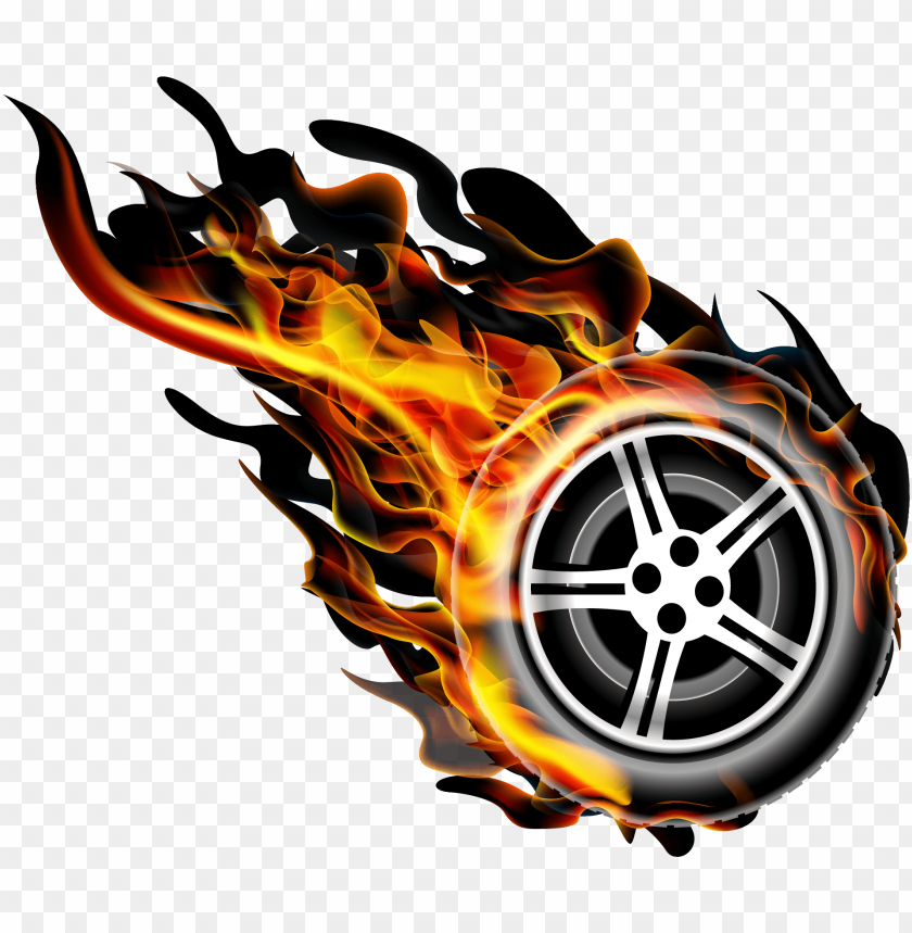 Image Black And White Fire Transprent Png Free Download Imagens