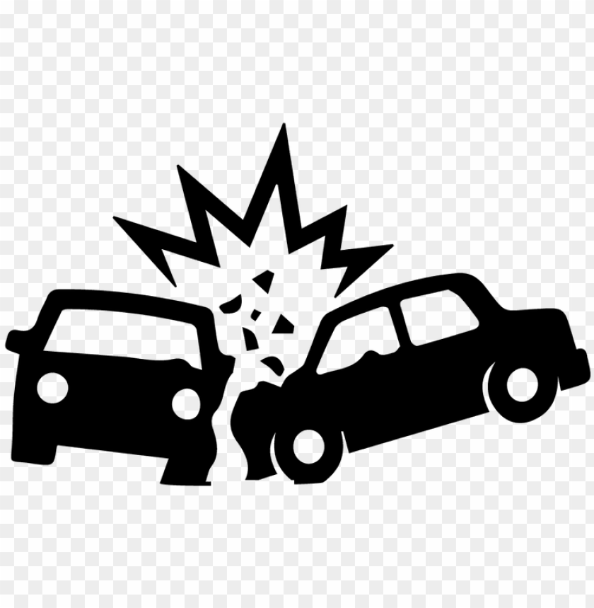free PNG image free download accident clipart - black and white car crash clipart PNG image with transparent background PNG images transparent