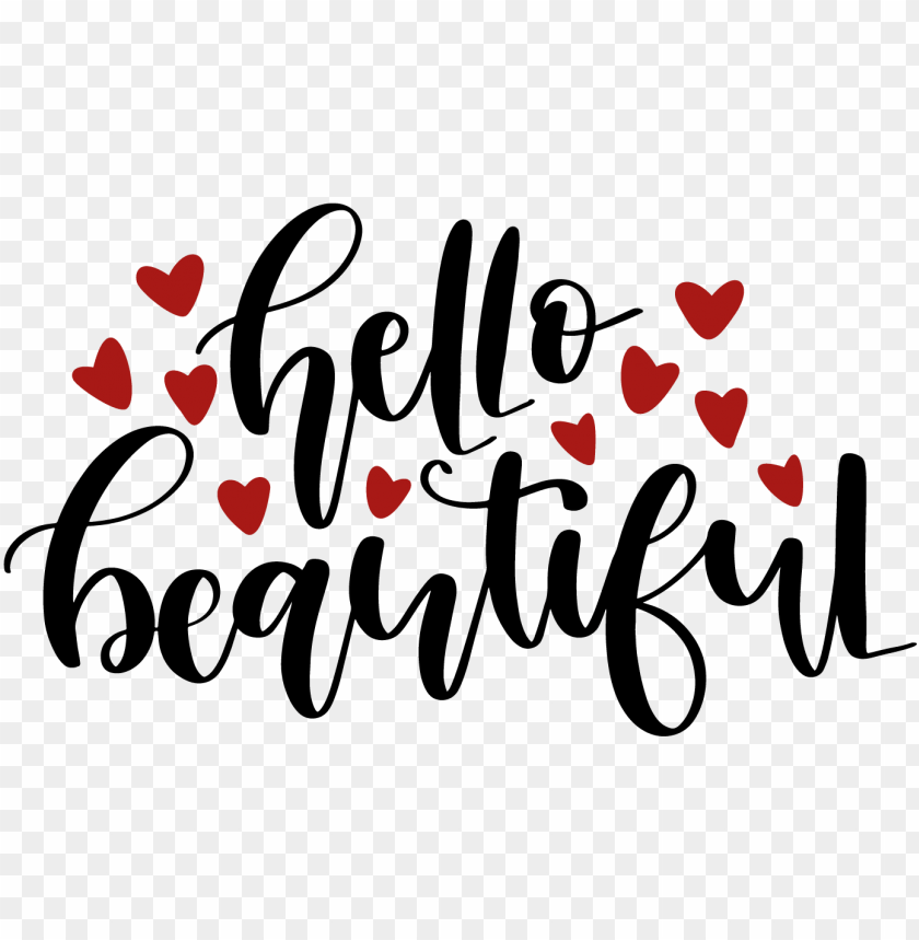free PNG image free library hello beautiful commercial use ok - hello beautiful: makeup quote lipstick lovers - 150 PNG image with transparent background PNG images transparent