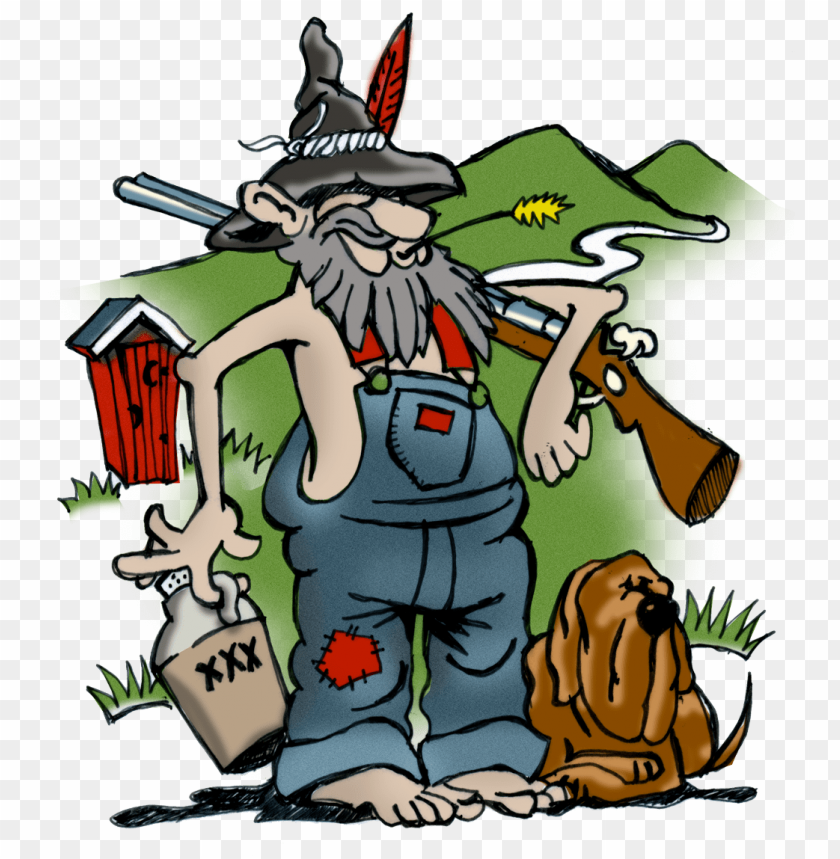 image - hillbilly cartoon characters PNG image with transparent background | TOPpng