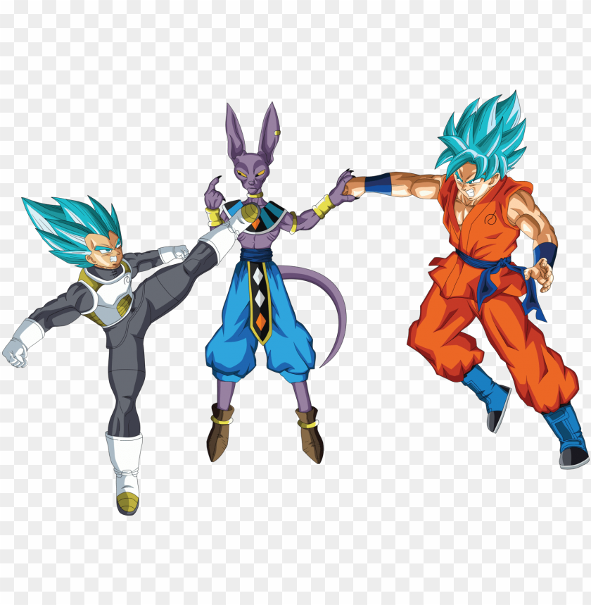 Image Library Library Vegeta And Goku Ssgss Goku Vs Beerus Png Image With Transparent Background Toppng