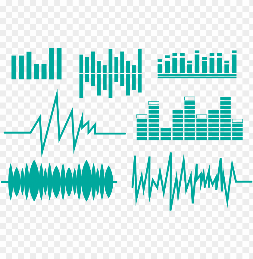 free PNG image library stock sound wave euclidean equalization - sound wave vector PNG image with transparent background PNG images transparent