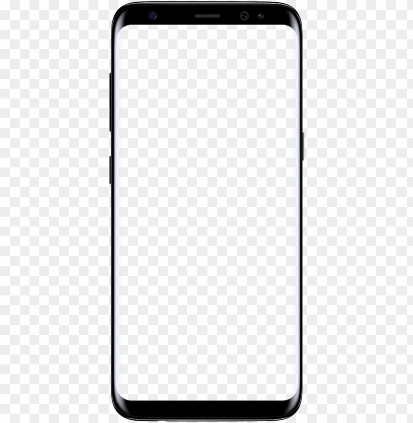 free PNG image of galaxy s8 with empty screen - emoji samsung s9 PNG image with transparent background PNG images transparent