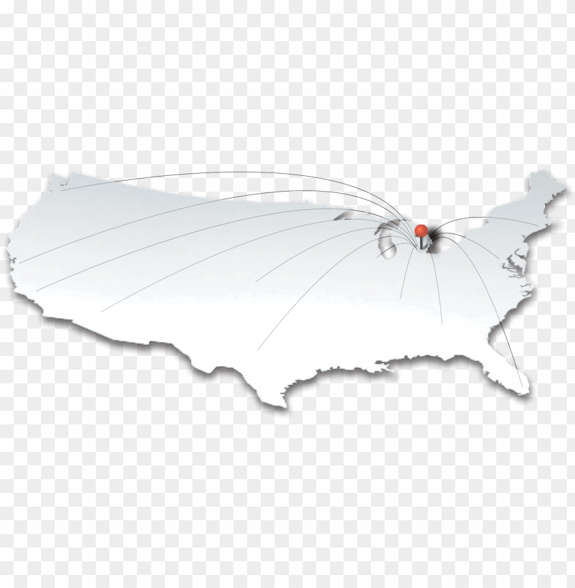 free PNG image of the outline of the united states of america - silhouette PNG image with transparent background PNG images transparent