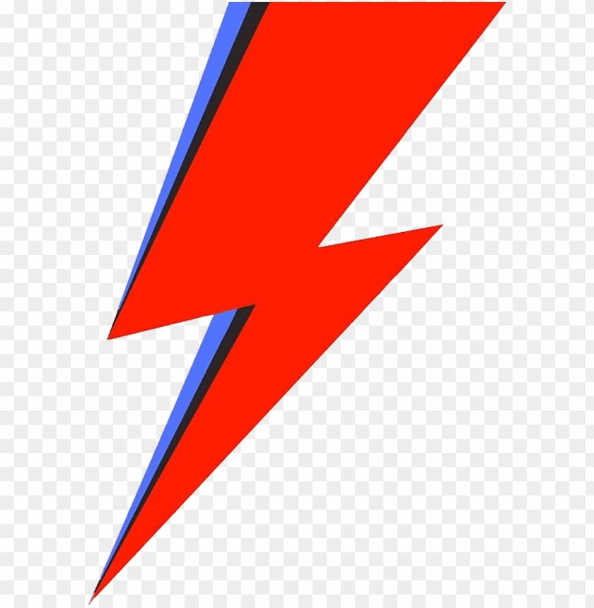 free PNG image result for bowie lightning bolt - ziggy stardust lightning bolt PNG image with transparent background PNG images transparent