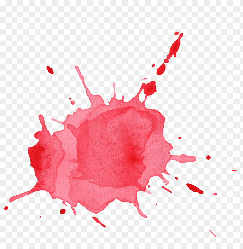 free PNG image result for watercolour splash red - watercolour splash transparent PNG image with transparent background PNG images transparent