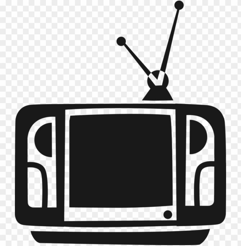 free PNG image royalty free television or set with rabbit ears - television set PNG image with transparent background PNG images transparent
