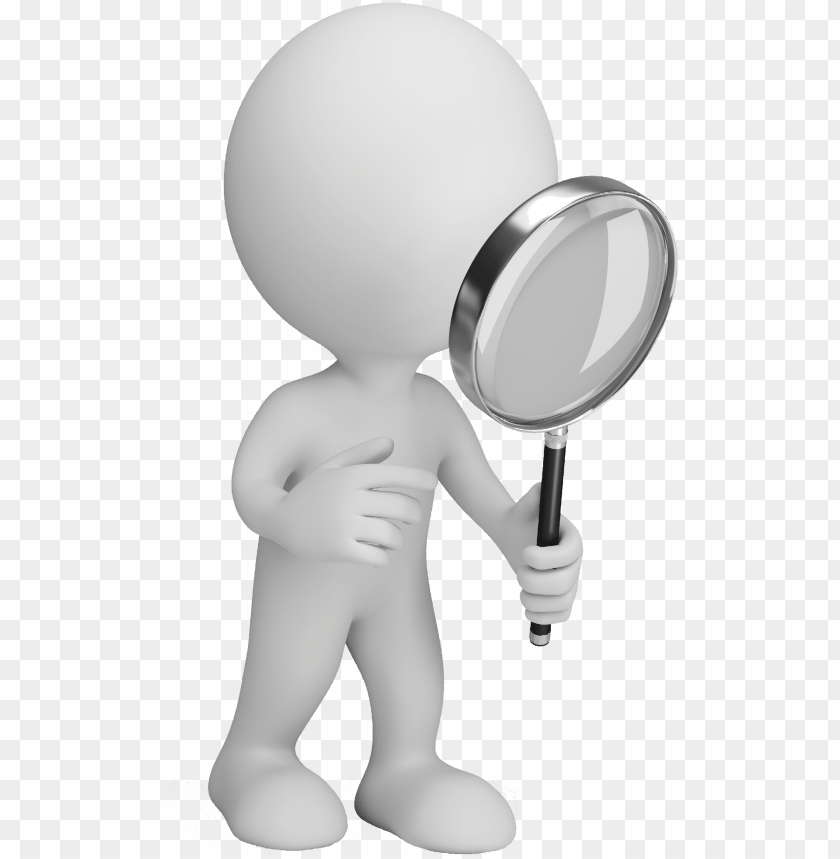 free PNG image stock magnifying clipart man - magnifying glass PNG image with transparent background PNG images transparent