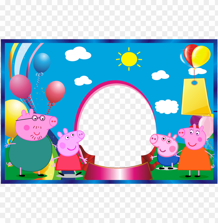 Imágenes De Cumpleaños De Peppa Pig Y Sus Amigos Mi