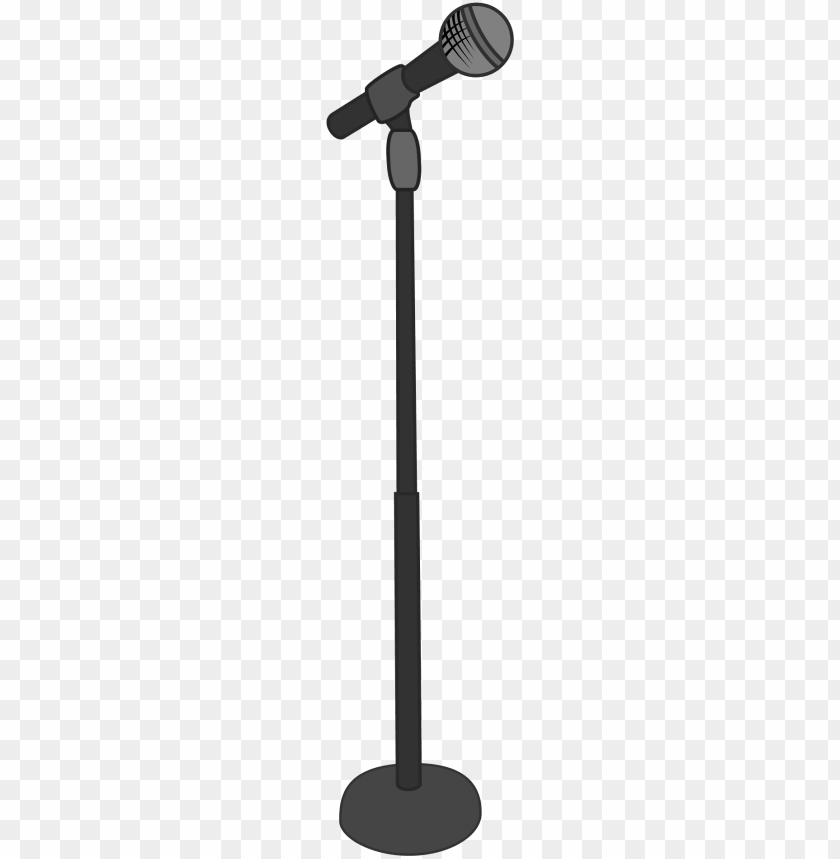 free PNG images for cartoon microphone stand - microphone stand clipart PNG image with transparent background PNG images transparent