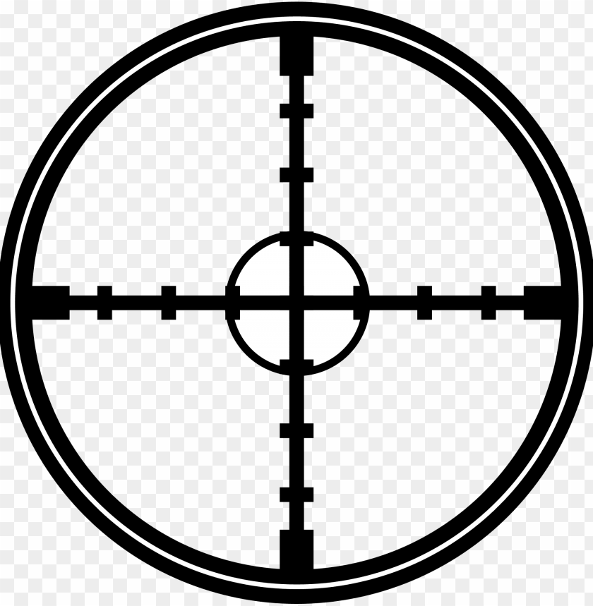 Images Pngpix Crosshair Transparent Sniper Crosshairs Png Image