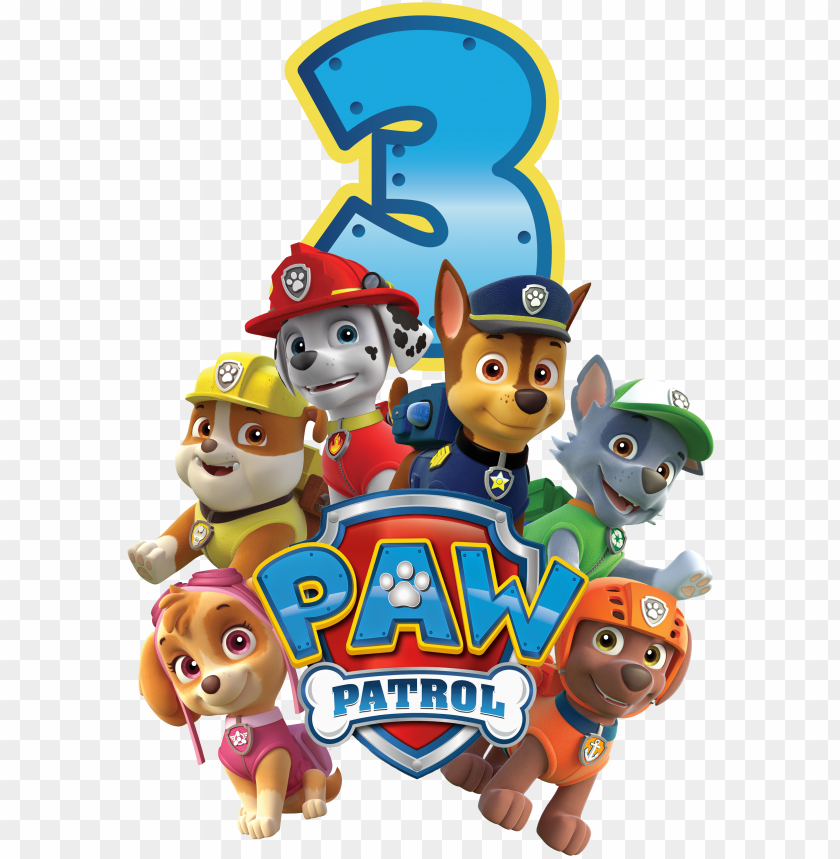free PNG in by kleemilk on paw patrol - paw patrol birthday PNG image with transparent background PNG images transparent