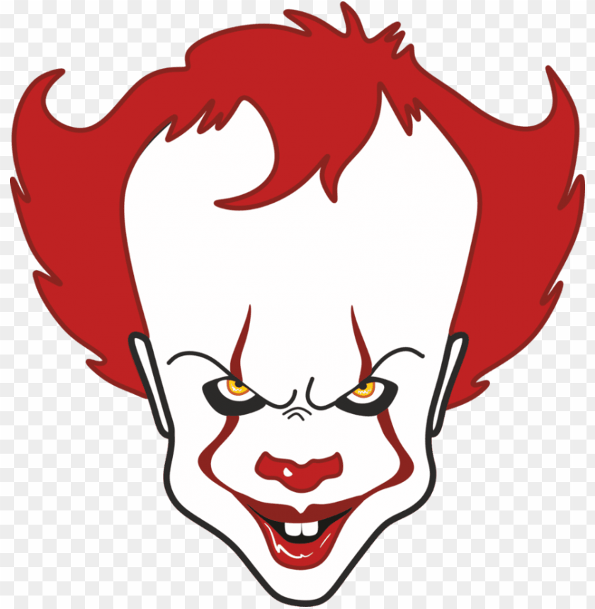 In By Randy Mcpherson On Clowns Of Many Colors Pennywise The Clown Drawi Png Image With Transparent Background Toppng
