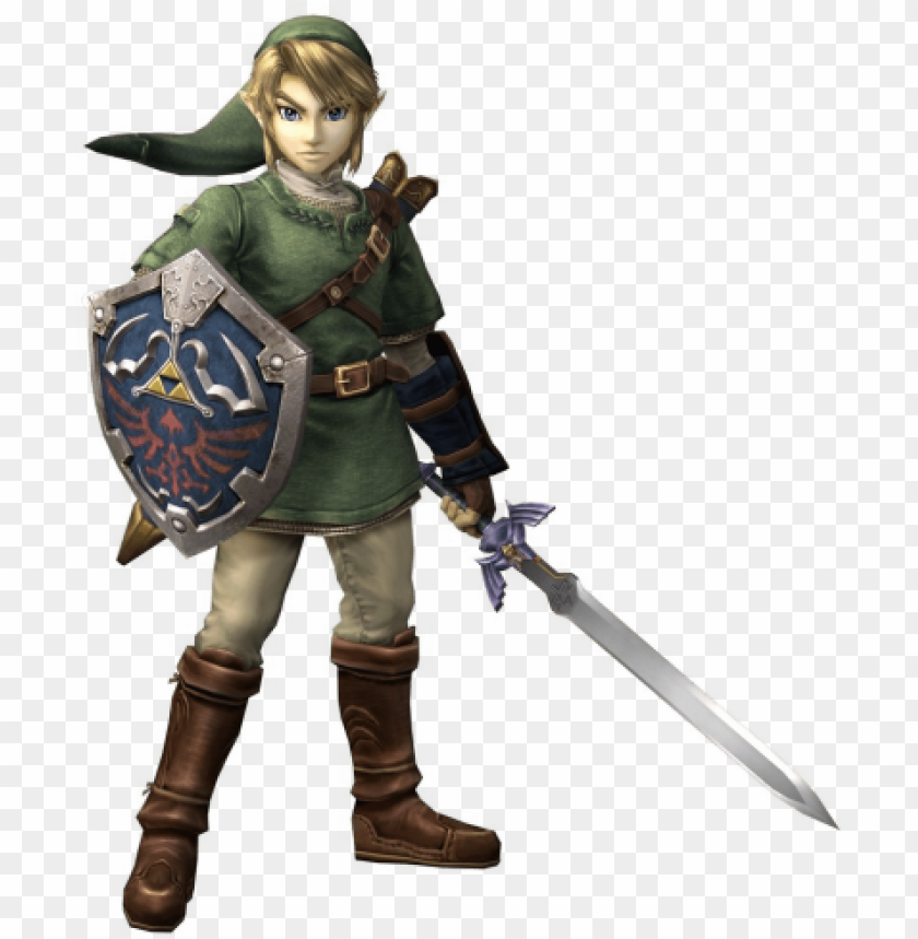 free PNG in smash brawl, link's appearance changed to that of - legend of zelda twilight princess link cosplay costume PNG image with transparent background PNG images transparent