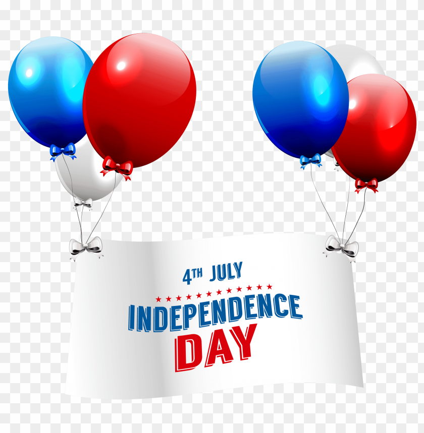 free PNG Download independence day with balloons   image png images background PNG images transparent