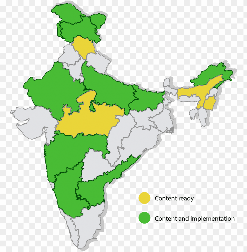 free PNG india - india map only state PNG image with transparent background PNG images transparent