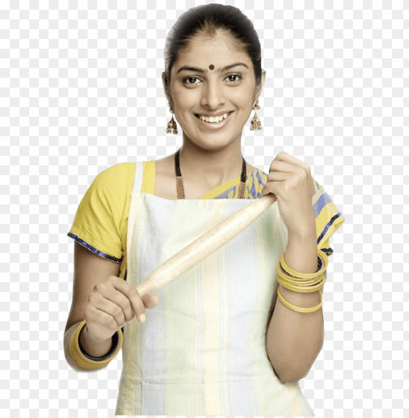 free PNG indian clipart house maid - indian female chef PNG image with transparent background PNG images transparent