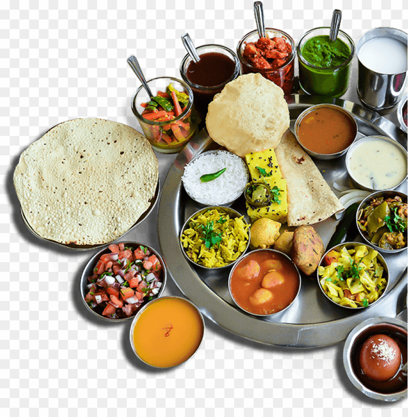 free PNG indian food png banner free library - indian veg thali PNG image with transparent background PNG images transparent