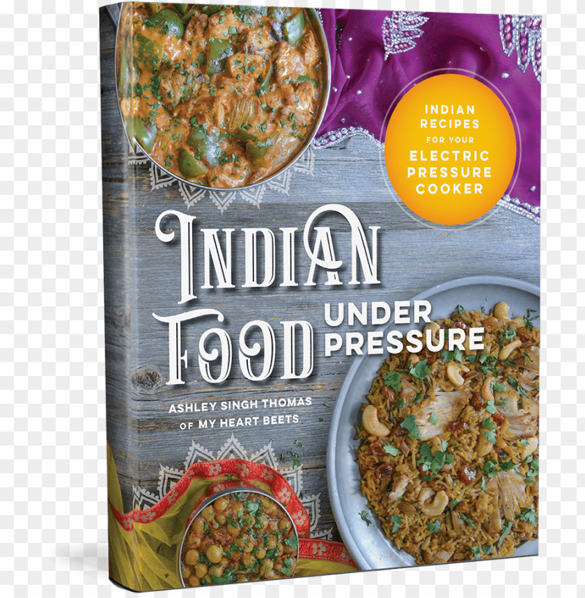 free PNG indian food under pressure: authentic indian recipes PNG image with transparent background PNG images transparent