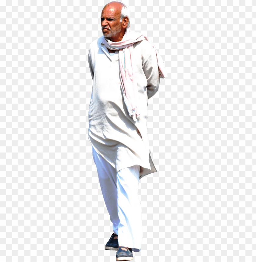 indian man walking PNG image with transparent background@toppng.com