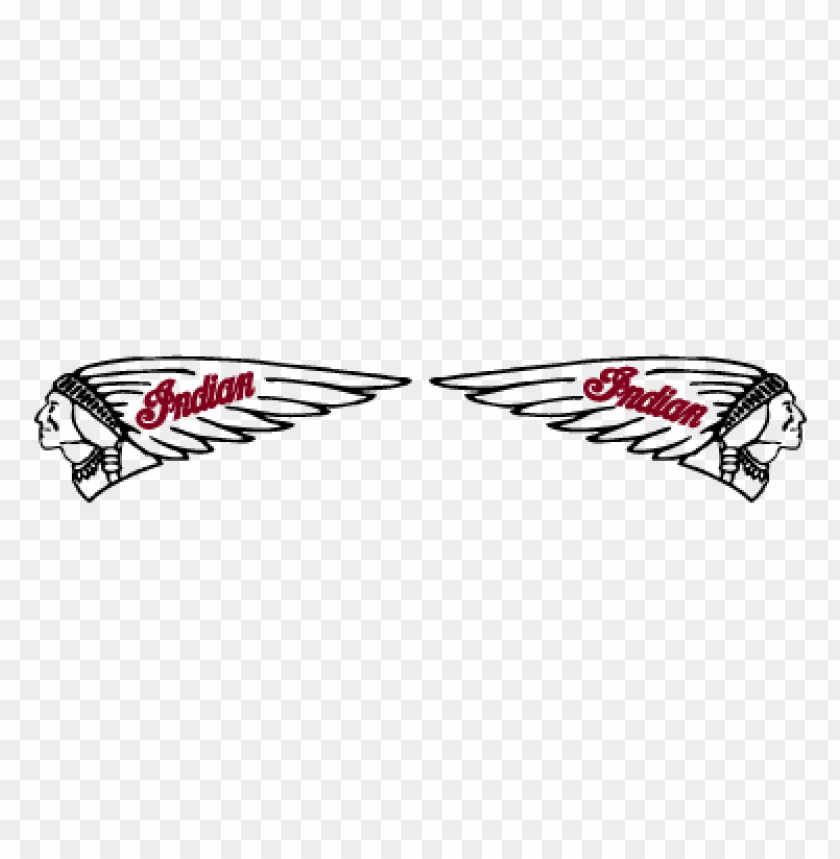 free PNG indian motorcycles head vector logo PNG images transparent