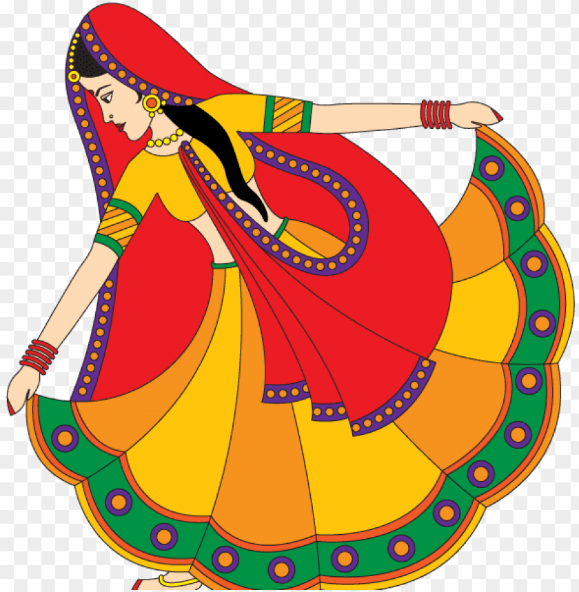 free PNG indian traditional dancer vector attire dress folk - indian welcome lady logo images PNG image with transparent background PNG images transparent