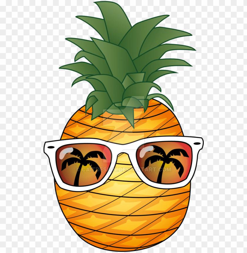 free PNG ineapple summer by caitdesign on deviantart vector - pineapple summer clip art transparent PNG image with transparent background PNG images transparent