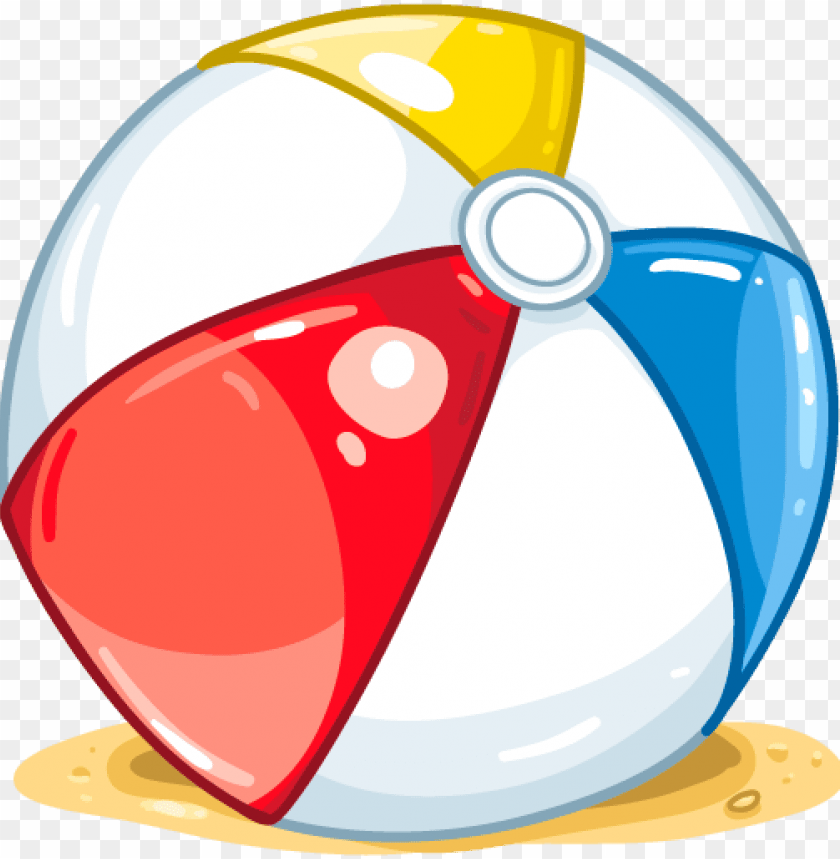 free PNG inflatable beach ball water sprinkler - cartoon beach ball PNG image with transparent background PNG images transparent
