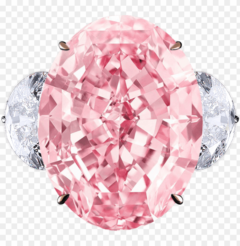 free PNG ink diamond ring - pink star diamond PNG image with transparent background PNG images transparent