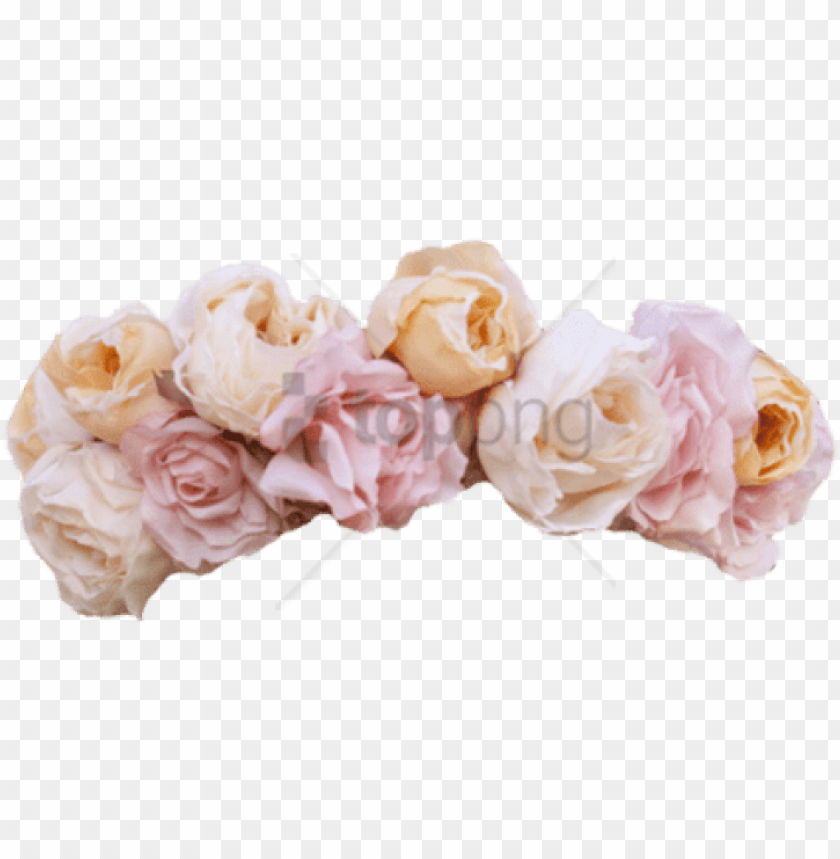 free PNG ink flower crown floral garland, flower garlands, - pink pastel flower crown PNG image with transparent background PNG images transparent