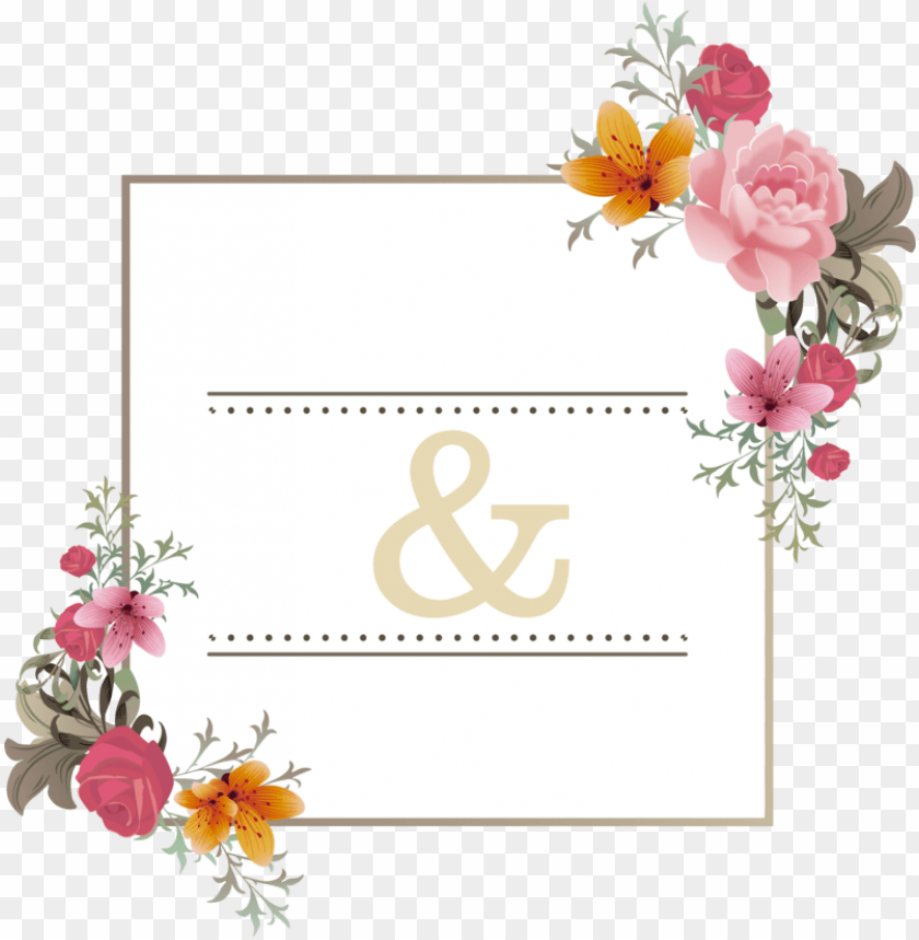 free PNG ink flower e card wedding greeting get well invitation - weddi PNG image with transparent background PNG images transparent