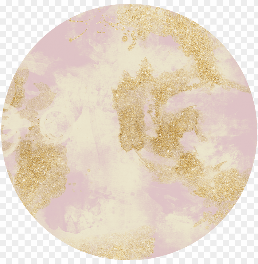 free PNG ink glitter gold background texture circle ftestickers - circle PNG image with transparent background PNG images transparent