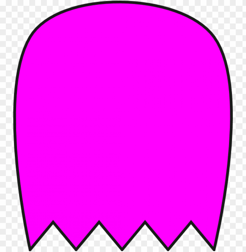 free PNG ink pacman ghost clip art at clker com vector online - pac man ghost clip art PNG image with transparent background PNG images transparent