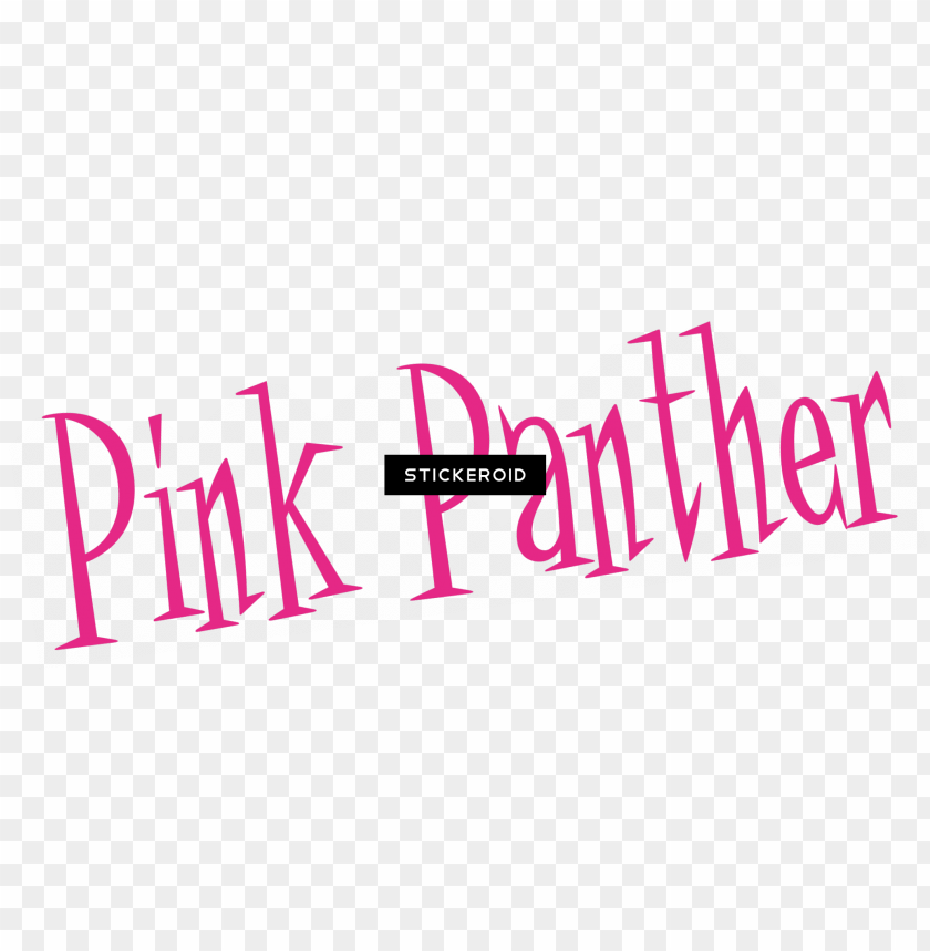 ink panther logo - pink panther PNG image with transparent background@toppng.com