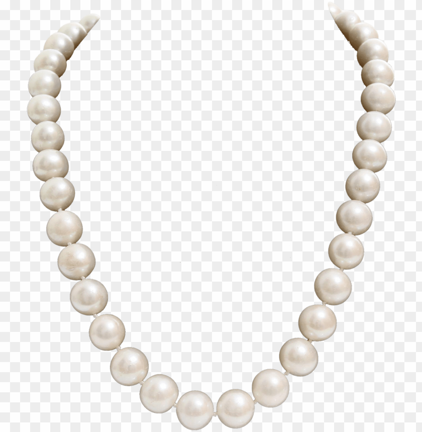 free PNG ink pearl necklace png clip transparent stock - pearl collar PNG image with transparent background PNG images transparent