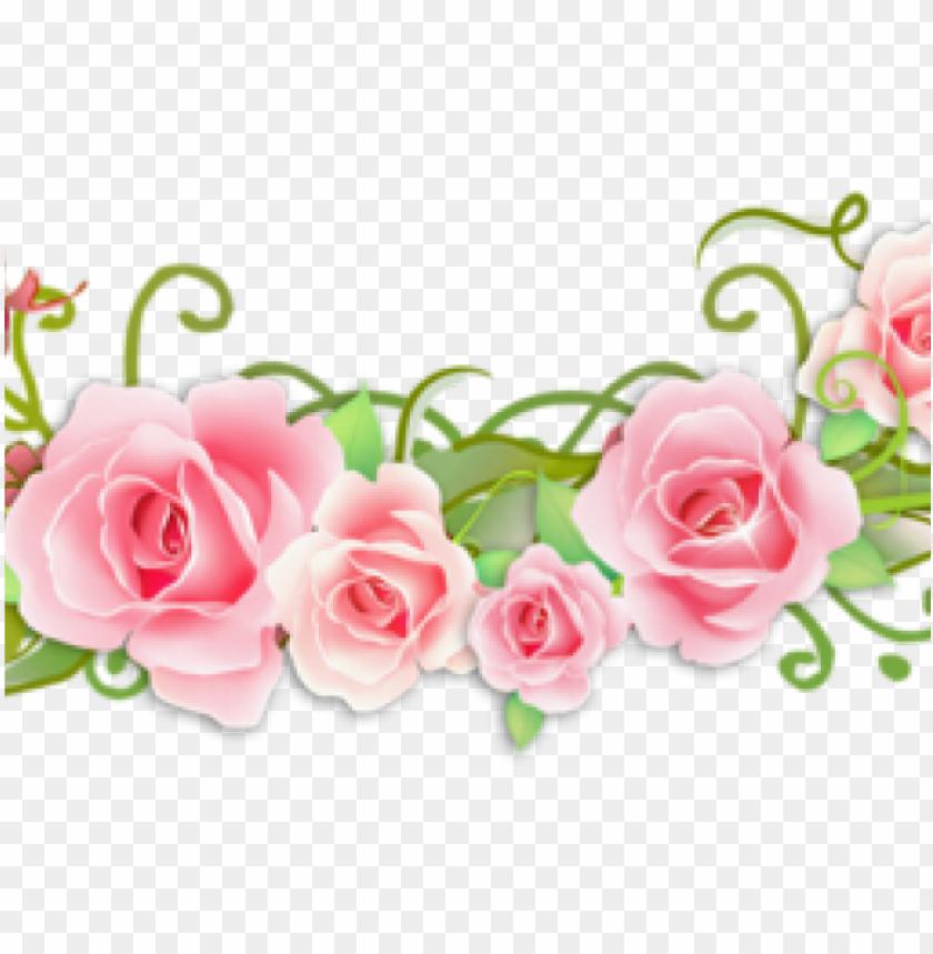 free PNG ink rose clipart divider - frame weddi PNG image with transparent background PNG images transparent