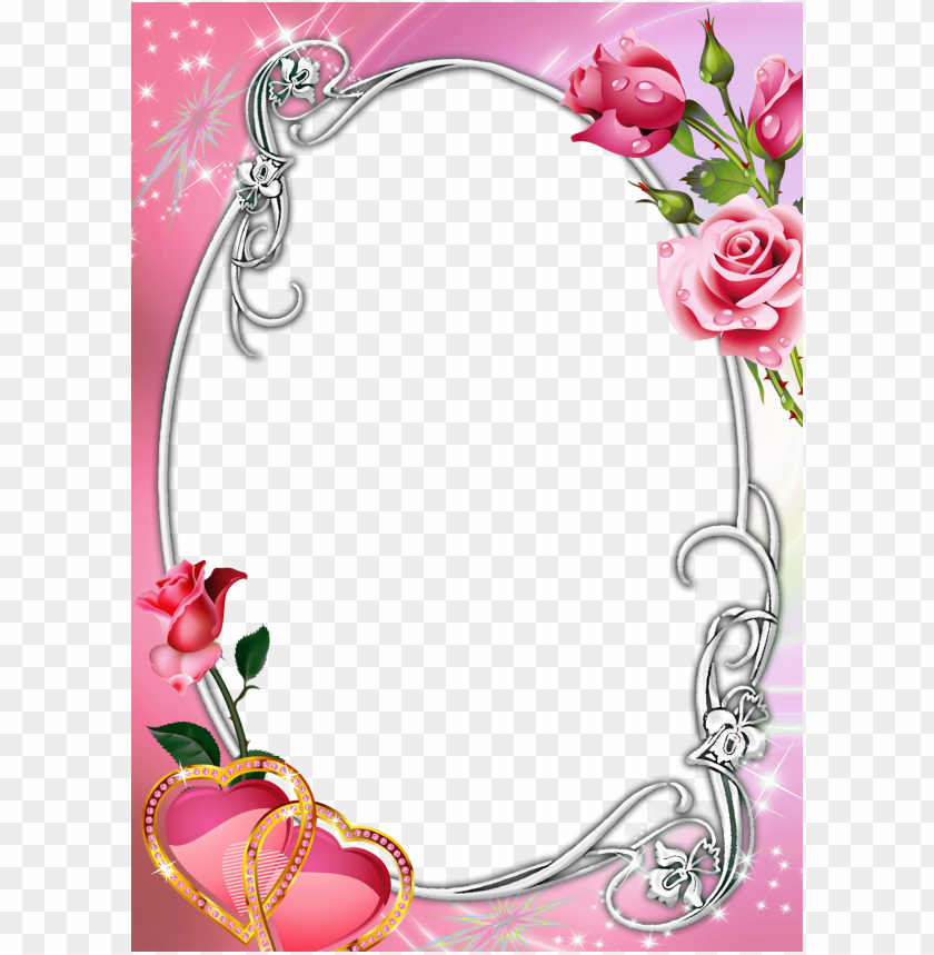 free PNG ink transparent with roses - pink roses borders and frames PNG image with transparent background PNG images transparent