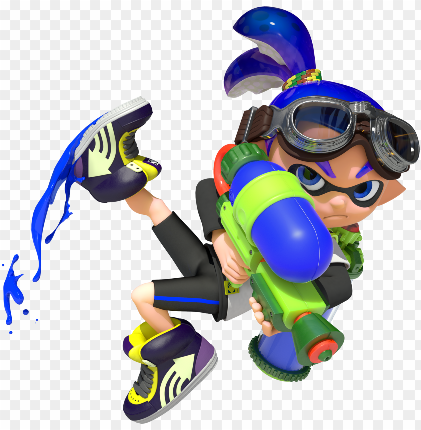 free PNG inkling boy cg art PNG image with transparent background PNG images transparent
