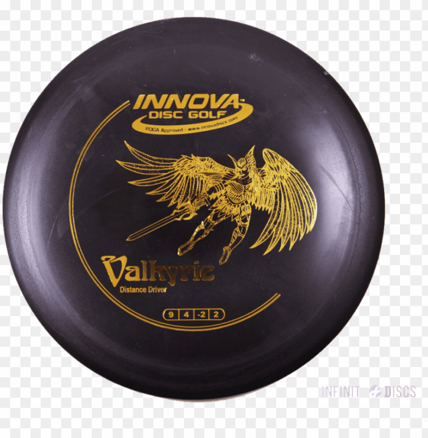 free PNG innova valkyrie - innova disc golf valkyrie dx golf disc frisbee PNG image with transparent background PNG images transparent