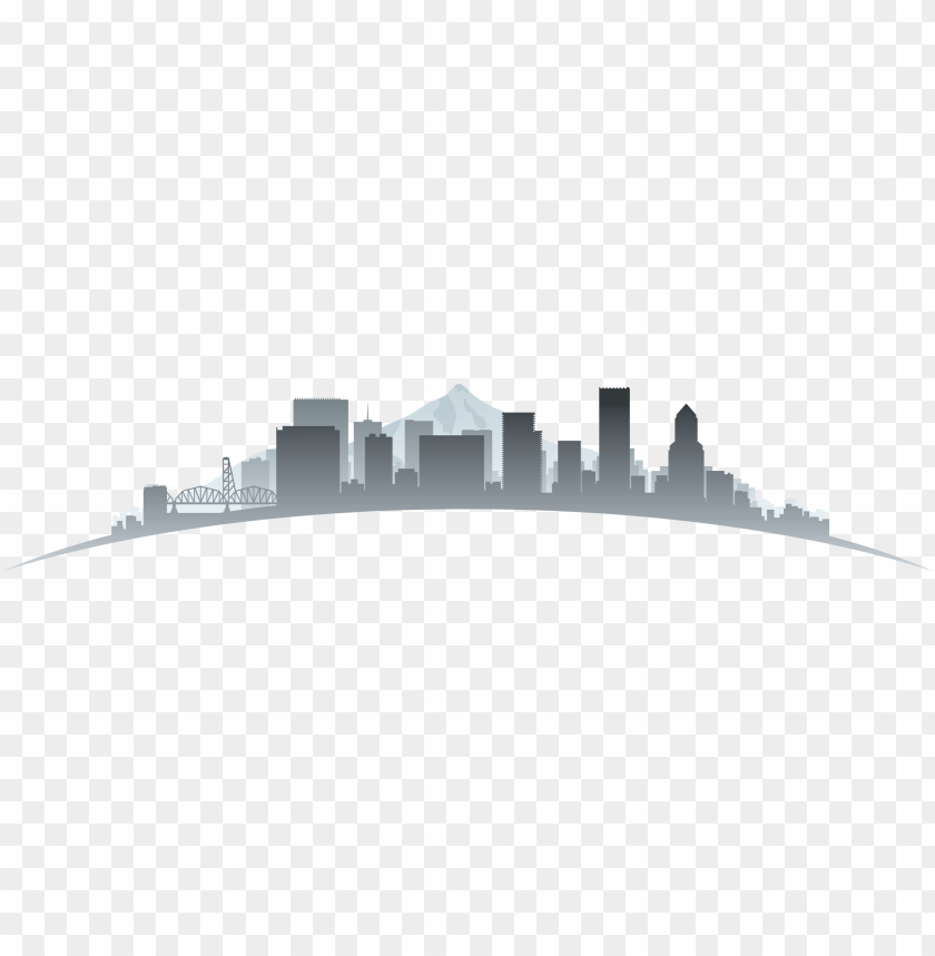 free PNG insights & commentary - portland oregon skyline silhouette PNG image with transparent background PNG images transparent