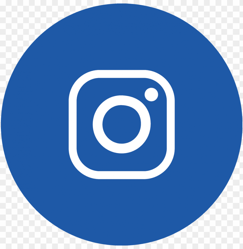 insta icon circle ltblue - instagram icon in white png - Free PNG Images@toppng.com