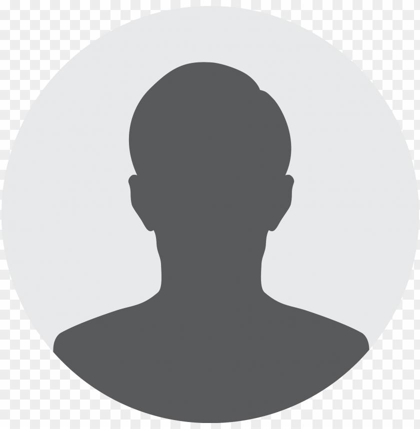 Profile picture default Initials instead