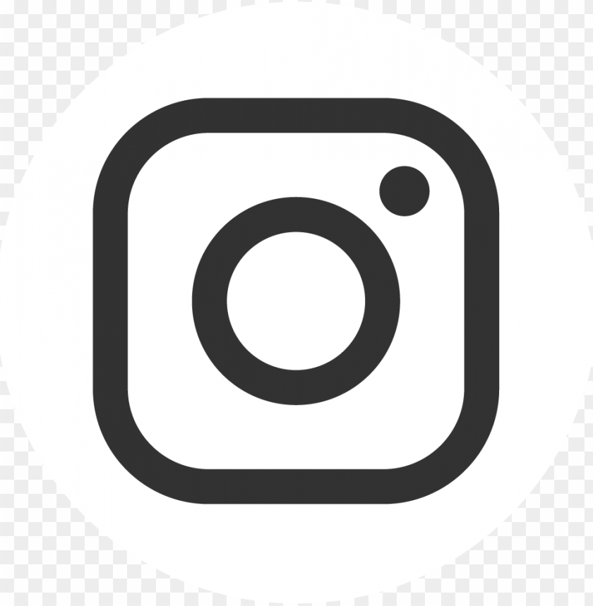 Instagram White Transparent Logo Png Image With Transparent Background Toppng