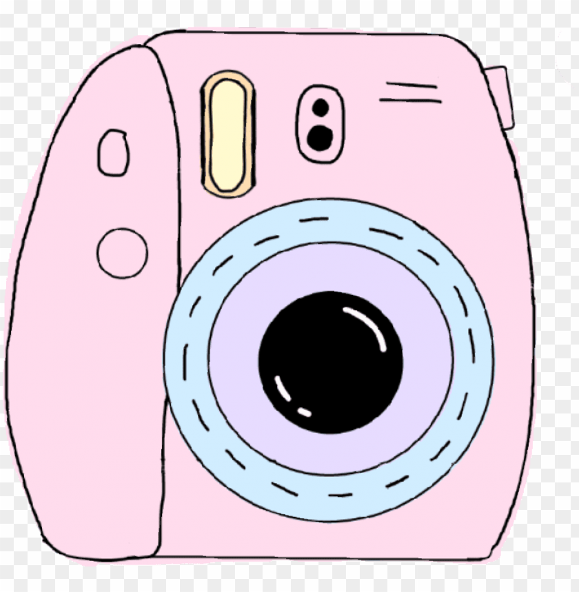 free PNG #instax #pink #camera #photography #tumblrarts #peace - png polaroid camera PNG image with transparent background PNG images transparent