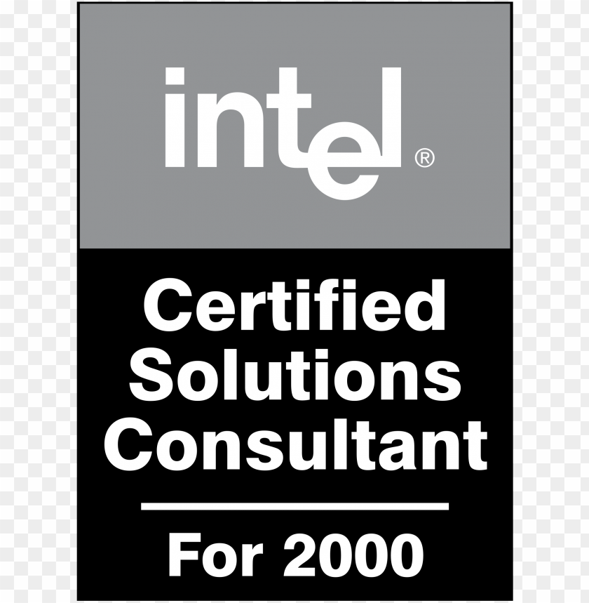 free PNG intel certified solutions consultant logo png transparent - intel leap ahead logo PNG image with transparent background PNG images transparent