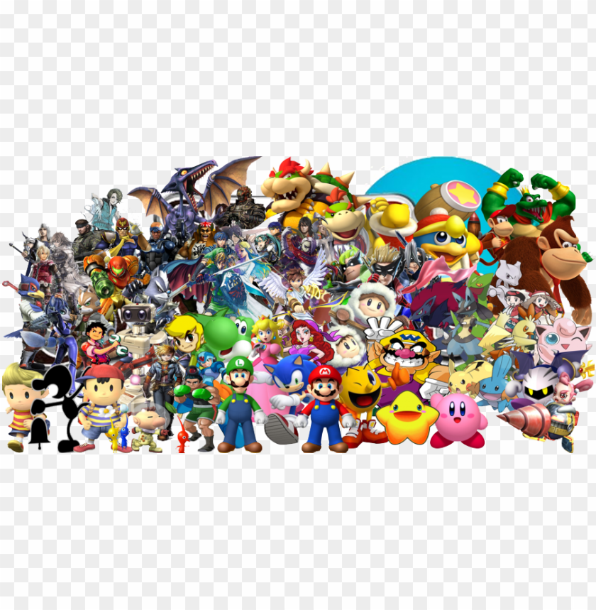 free PNG intendo characters png pic - nintendo characters PNG image with transparent background PNG images transparent